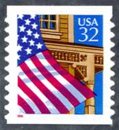 Flag Over Porch Stamp